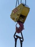 Hook  elevating  crane Stock Image