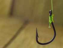 Hook for fishing Stock Photo