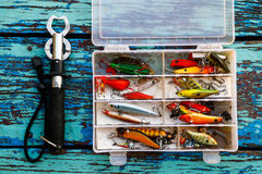 Hook. For fishing sport background Stock Photography