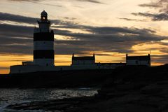 Hook Head lighthouse. Wexford. Ireland stock images