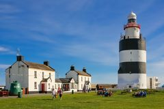 Hook Head lighthouse. Wexford. Ireland royalty free stock photography