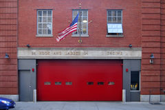 Hook and ladder co 24, New York Royalty Free Stock Image