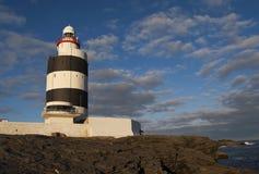Hook lighthouse Royalty Free Stock Photo