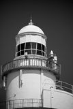 Hook Lighthouse. In Ireland, black and white royalty free stock photos