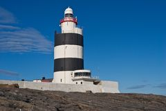 Hook Lighthouse at Hook Head, Wexford, Ireland royalty free stock photos