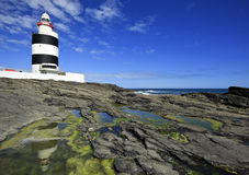 Hook Lighthouse at Hook Head, County Wexford, Ireland. Stock Image