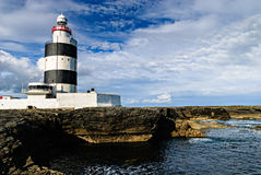 Hook Lighthouse at Hook Head, Ireland Royalty Free Stock Photo