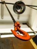 Hook orange tool Royalty Free Stock Photography