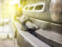 Hook for towing. royalty free stock images