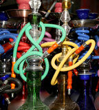 Hookah ‒ also known as a waterpipe, narghile,arghila  or shisha, Jordan, Middle East Royalty Free Stock Photos