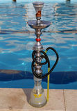 Hookah � also known as a waterpipe, narghile,arghila  or shisha Stock Image