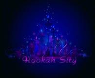 Hookah Bar Menu Cover Stock Image