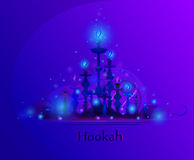 Hookah Bar Menu Royalty Free Stock Photos