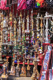 Hookah in bazaar Stock Images