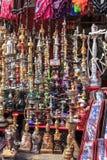 Hookah in bazaar Stock Images