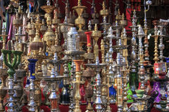 Hookah in bazaar. Royalty Free Stock Photo