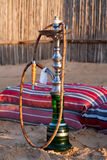Hookah in the Desert Royalty Free Stock Image