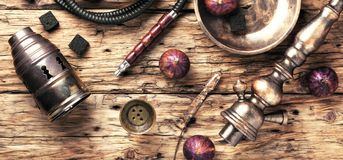 Free Hookah In Figs Royalty Free Stock Photos - 103857958