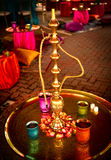 Hookah at Indian Wedding Royalty Free Stock Image