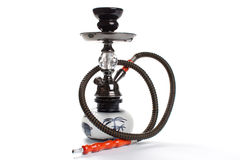 Hookah isolated on white. Royalty Free Stock Photography