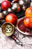 Hookah with orange taste Stock Photography
