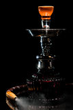 Hookah over black Royalty Free Stock Photo