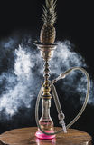 Hookah with pineapple Royalty Free Stock Photo