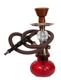 Hookah red Stock Photo