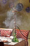Hookah in the restaurant Royalty Free Stock Photography