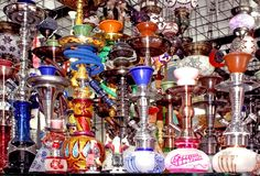 Hookah or shisha Stock Images