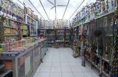 Hookah Shop in Jordan Royalty Free Stock Photography