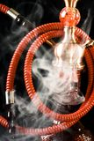 Hookah with smoke Royalty Free Stock Photos
