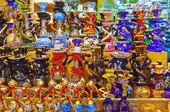 Hookah in souvenir shop Royalty Free Stock Photography