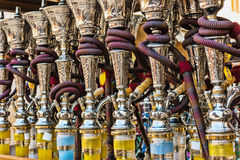Hookah in souvenir shop at UAE Royalty Free Stock Photos