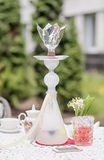 Hookah on the table Royalty Free Stock Photography