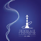 Hookah vector logo, icon, symbol, emblem, sign Stock Images