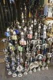 Hookahs in Cairo Bazaar Stock Image