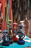 Hookahs in Eilat Royalty Free Stock Image
