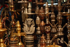 Hookas on display Stock Image