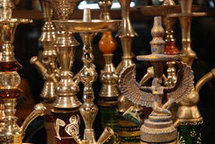 Hookas on display Royalty Free Stock Image