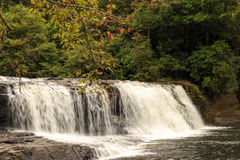 Hooker Falls. In Hendersonville, NC Royalty Free Stock Photography