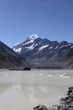 Hooker Lake / Mt Cook Royalty Free Stock Image