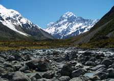 Hooker valley Royalty Free Stock Photos