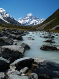 Hooker valley Royalty Free Stock Photography