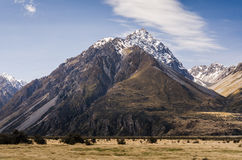 Hooker Valley, New Zealand Royalty Free Stock Photography