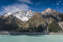 Hooker Valley, New Zealand Stock Photo