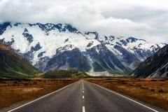 Hooker Valley New Zealand. Taken in 2015 taken in HDR Stock Photography
