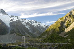 Hooker Valley, NZ Stock Photo