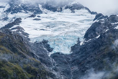 Hooker Valley Track in Mt.Cook National Park, New Zealand Stock Images