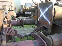 Hooking railway wagons_1 Stock Photography